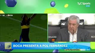 Jorge Ameal, muy molesto por los casos de Ramos Mingo y Molina