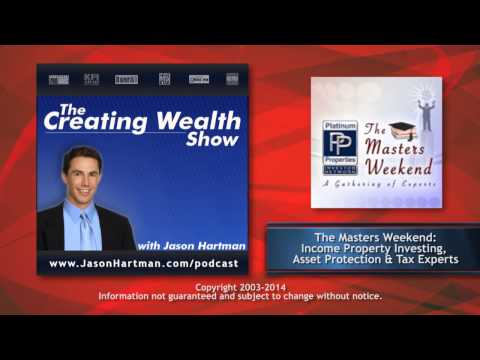 Creating Wealth #187 - Income Property Investing, Asset Protection, & Tax Experts