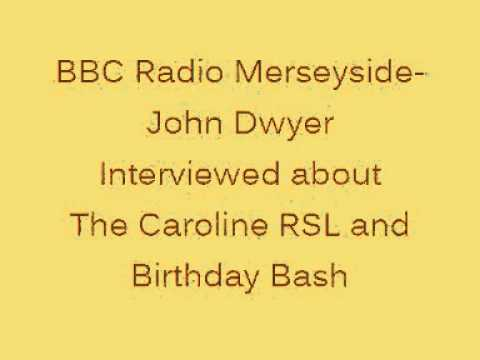 Radio Merseyside Interviews John Dwyer About.....