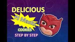 Amazing PJ Masks Cookies