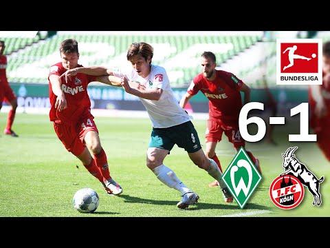 Werder Bremen vs. 1. FC Köln I 6 -1 I Dramatic Relegation Rescue for Bundesliga Dinosaur