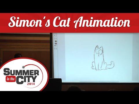 Simon's Cat Animation Presentation - Summer in the City 2014
