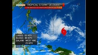 24 Oras: Weather update as of 5:46 p.m. (March 25, 2018)