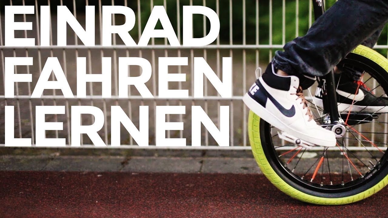 einrad fahren lernen learning to ride a unicycle tutorial rideone unicycling youtube. Black Bedroom Furniture Sets. Home Design Ideas