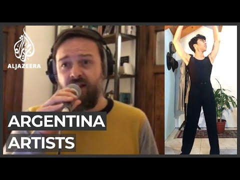 Argentina artists struggle during COVID-19 crisis