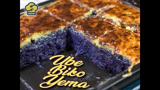Ube Biko Yema Recipe