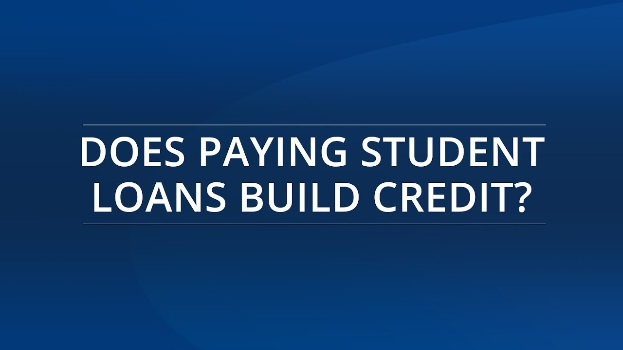 Does paying student loans build credit youtube does paying student loans build credit ccuart Choice Image