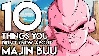 10 Things You Probably Didn't Know About Majin Buu! (10 Facts) | Dragon Ball Z