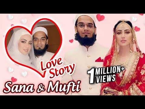 Download Sana Khan And Mufti Anas Lovestory   First Meet, Marriage & Religion Influence