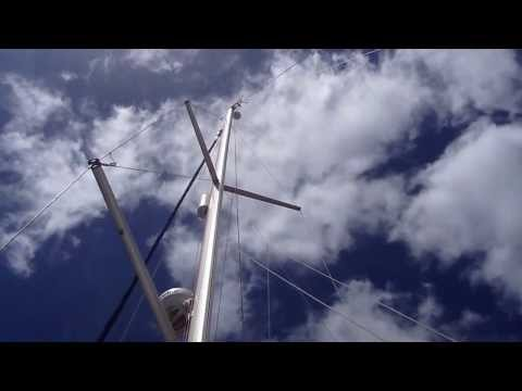Top of Mast Wind Indicator - YouTube
