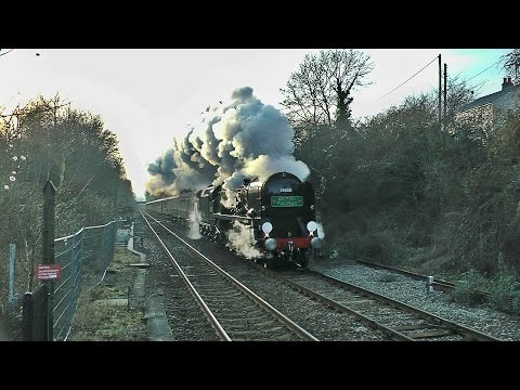 35028 'Clan Line' - The first Surrey Hills VSOE of 2015