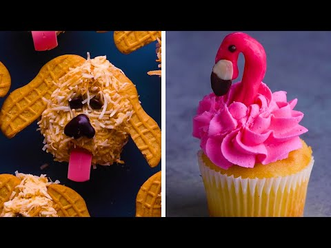 Sprinkles, Chocolate, Candy and Snacks Come Together in These Cupcake Hacks!   Recipes by So Yummy