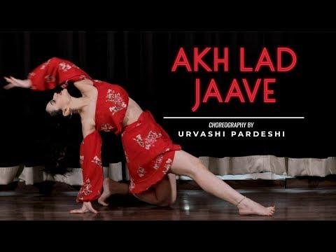 Akh Lad Jaave   Choreography by Urvashi Pardeshi   LoveRatri   Ayush Sharma, Warina Hussain