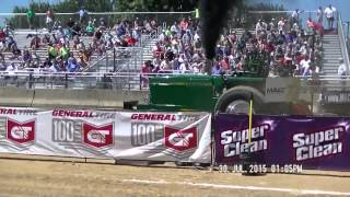 SUPER FARM TRACTORS 2015 PPL CHAMPION TOUR ELKHART COUNTY, INDIANA FAIR PULL JULY 30, 2015