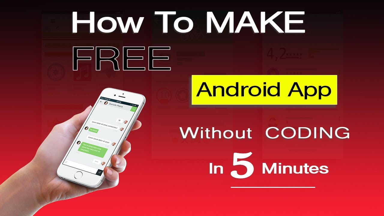 How To Create An Android App In Just 5 Minutes Without