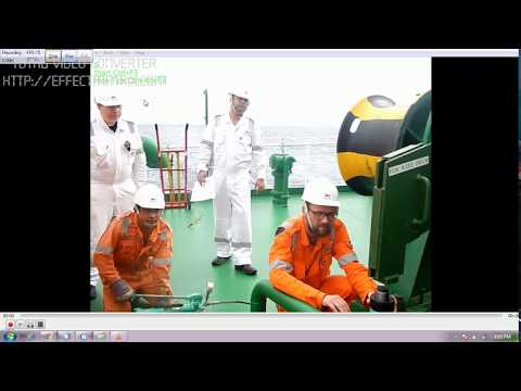 Checking The Mooring Winch Brake Holding Capacity Test - Part II