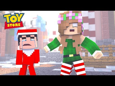 ELF ON THE SHELF LOSES THE NICE LIST! | Minecraft Toystore | Little Kelly