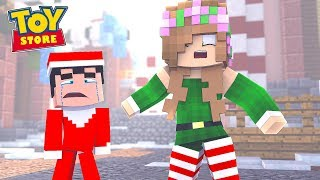 ELF ON THE SHELF LOSES THE NICE LIST!   Minecraft Toystore   Little Kelly