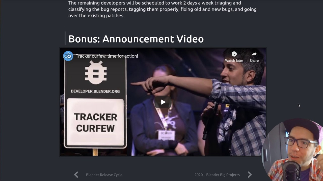 Tracker Curfew Wrap Up & Release Announcement