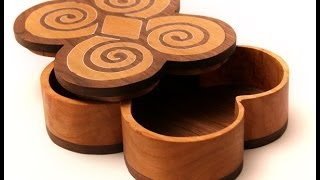 Make An Inlayed Wood Scroll Saw Box By Modern Wood Patterns Pt 1 (woodworking)