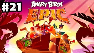 Angry Birds Epic - Gameplay Walkthrough Part 21 - Lots of Bosses (iOS, Android)