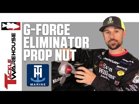 T/&H Marine G-Force ELIMINATOR™ Trolling Motor Prop Nut
