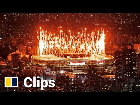 Tokyo marks Olympics opening ceremony with fireworks and drone display