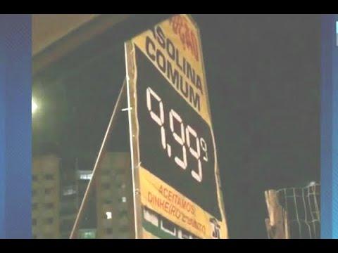 Procon do DF fiscaliza aumento abusivo no preço dos combustíveis | SBT Brasil (24/05/18)
