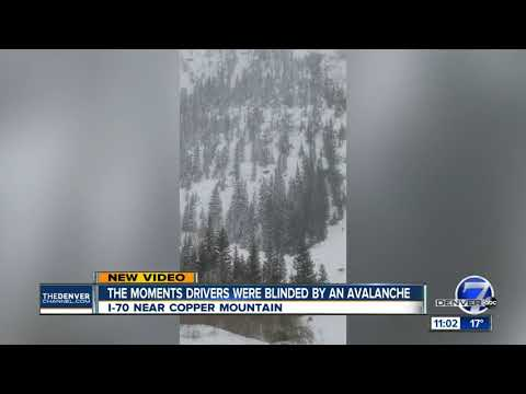 Avalanches close down sections of I-70 in Eagle and Summit counties