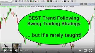 Swing Trading Strategies - Best Trend Trading