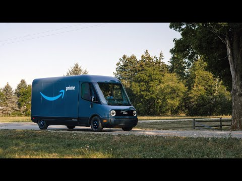 Amazon's first custom 100% electric delivery vehicle