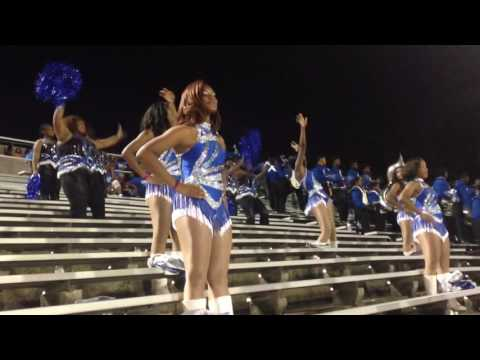 """Murrah High School """"Sounds of Perfection"""" Marching Band at 2016 Homecoming Game  (Part 1)"""