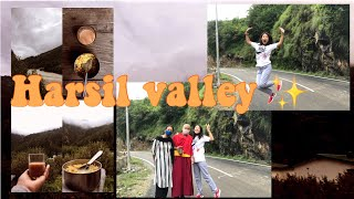 HARSIL TRAVEL VLOG PART - 1 | THE MOST BEAUTIFUL VALLEY |✨🥰