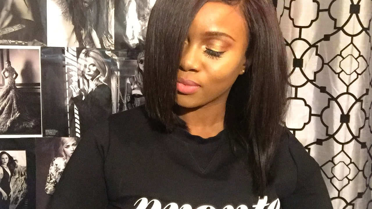 Silky Straight Hair Extensions Tutorial Youtube