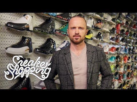 Aaron Paul Goes Sneaker Shopping With Complex