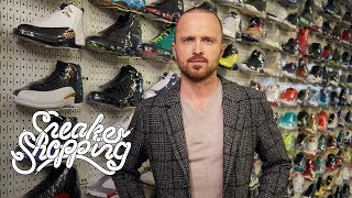 Download Aaron Paul Goes Sneaker Shopping With Complex Mp3 and Videos
