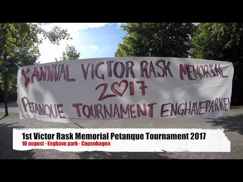 1st Victor Rask memorial petanque tournament 2017 (short ver)