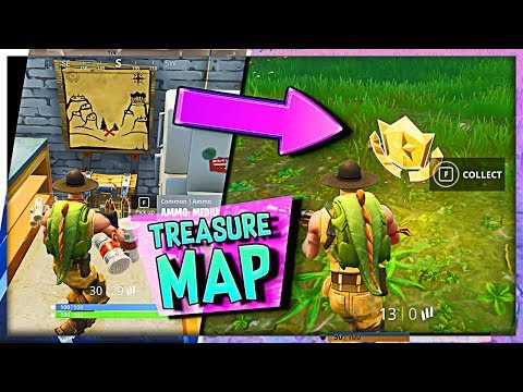Fortnite Snobby Shores Treasure Map // Fortnite Battle Royale