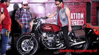Iconic Bike Ke 2 Moto Guzzi V7 II Stone Suryanation Motorland Semarang 2017