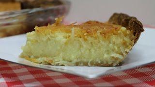 Triple Coconut Custard Pie  Coconut Custard Pie Recipe  Torani Pie Day  Noreens Kitchen