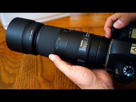 Tamron 100-400mm f/4.5-6.3 VC USD lens review with samples (Full-frame & APS-C)