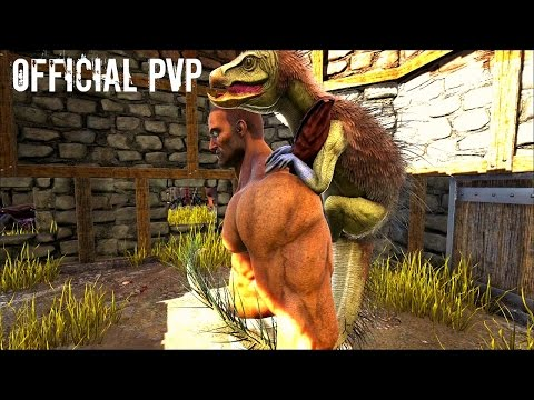 PEGOMASTAX TAME w/ Troodon and Underwater Cavern - Official PVP (E25) - ARK Survival