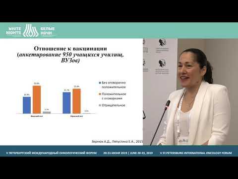 HPV Burden In Russia (Elena Ulrikh)