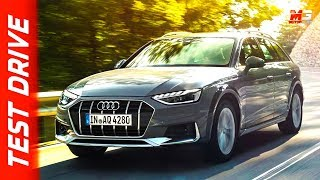 New audi A4 allroad 2019 - first test drive