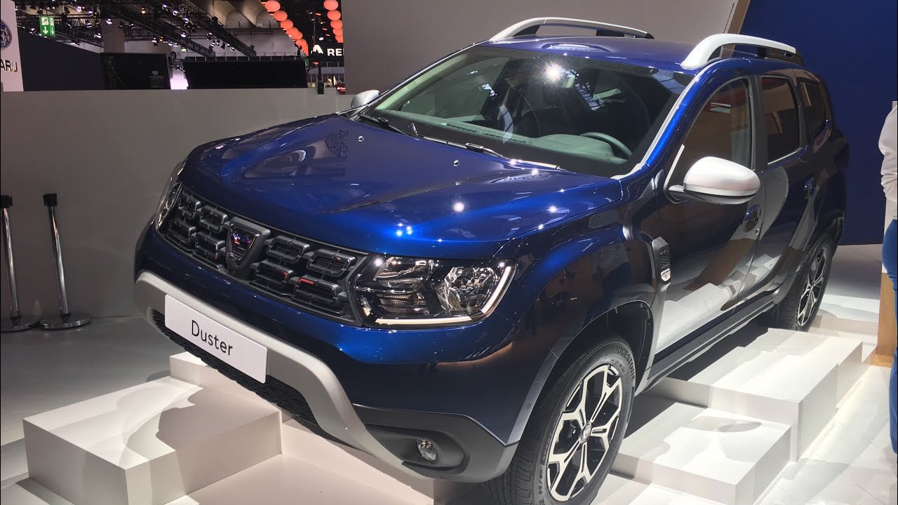 2017 new dacia duster walkaround at frankfurt motor show. Black Bedroom Furniture Sets. Home Design Ideas