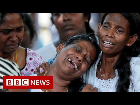 Sri Lanka mourns deaths following Easter Sunday attacks - BBC News