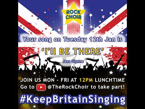 #KeepBritainSinging with Nicola Cain! (I'll be there : Jess Glynne) - Tuesday 12th Jan -