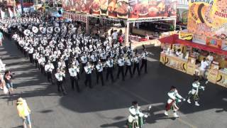 Upland Highland Regiment - Scotland the Brave - 2014 L.A. County Fair Marching Band Competition