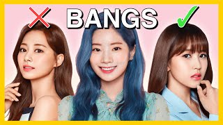 Twice: with vs without bangs