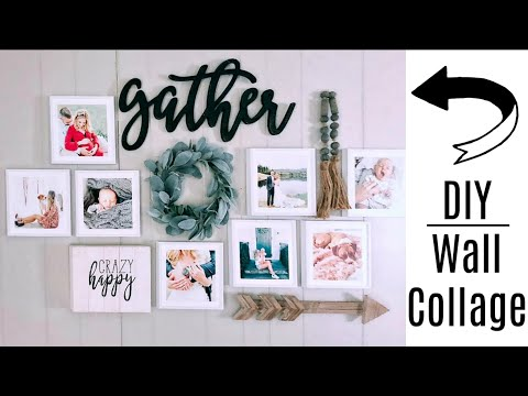 DIY Pinterest Wall Collage Featuring Mixtiles | Review
